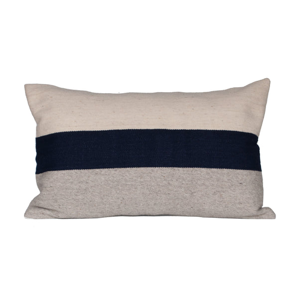 Horizon Pillow Cover - Navy Block - EQUAL UPRISE