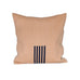4-Way Pillow Cover - Pale Peach & Navy Stripes - EQUAL UPRISE