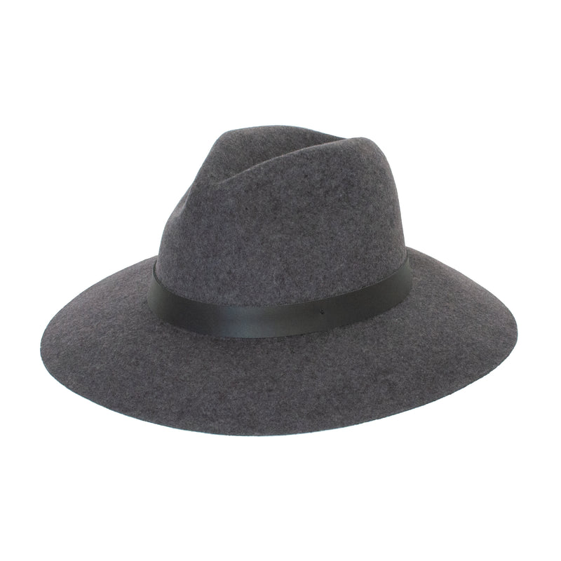 Panama Wool Hat - Dark Grey - EQUAL UPRISE