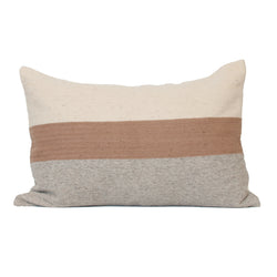 Horizon Pillow Cover - Salmon Block - EQUAL UPRISE