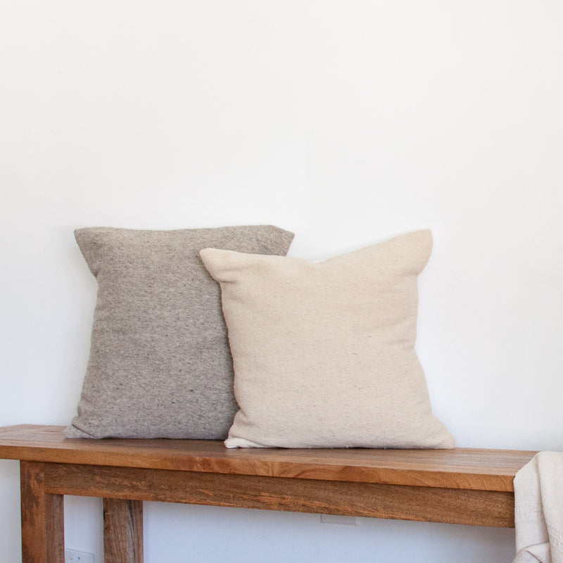 Solid Pillow Cover - Grey