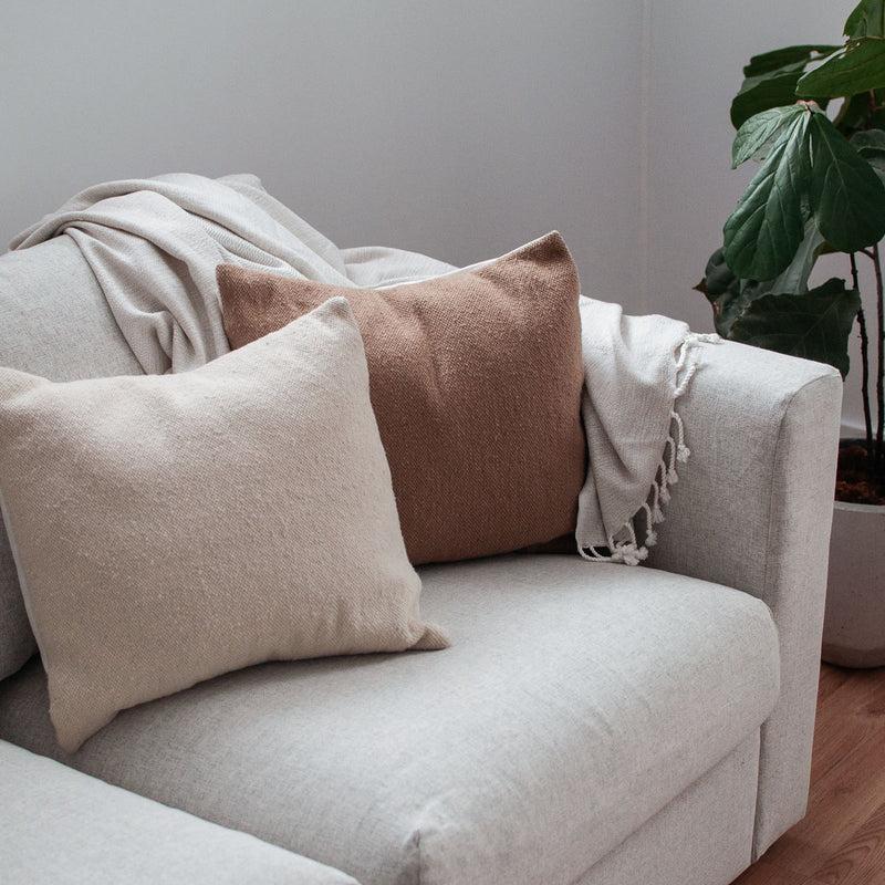 Solid Pillow Cover - Natural