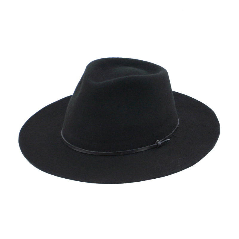 Straight Brim - Black - EQUAL UPRISE