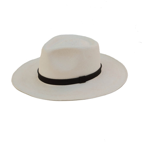 Avocado Straw Hat - White