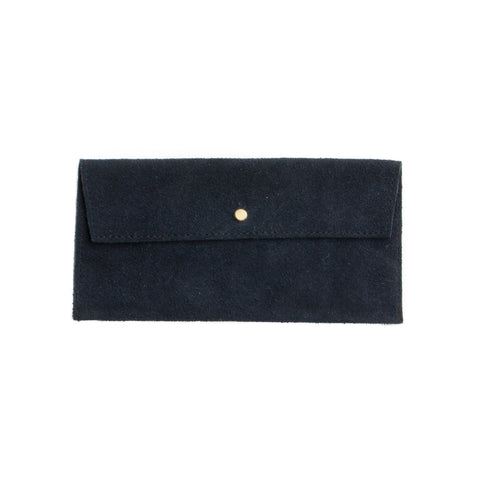 Suede Envelope - Navy - EQUAL UPRISE