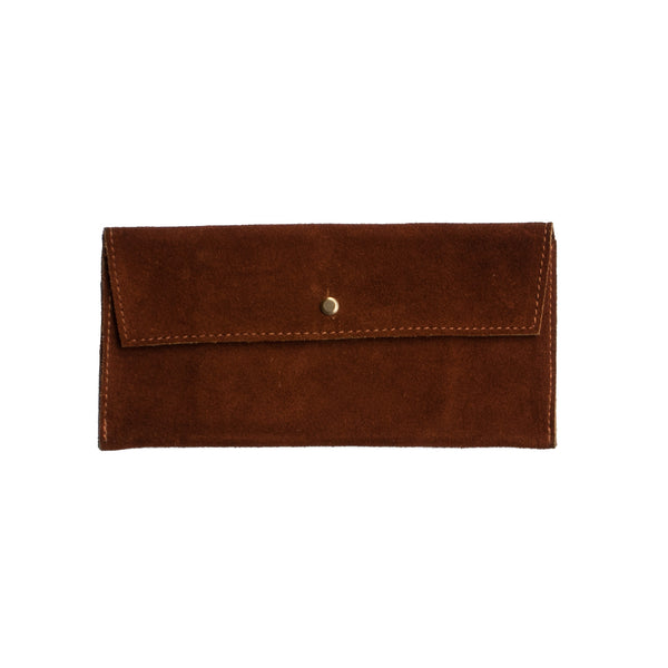 Suede Envelope - Terra Cotta - EQUAL UPRISE
