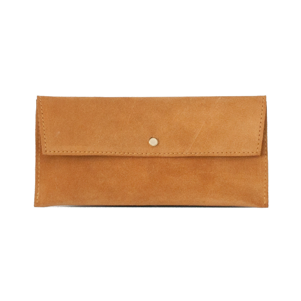 Suede Envelope - Honey - EQUAL UPRISE