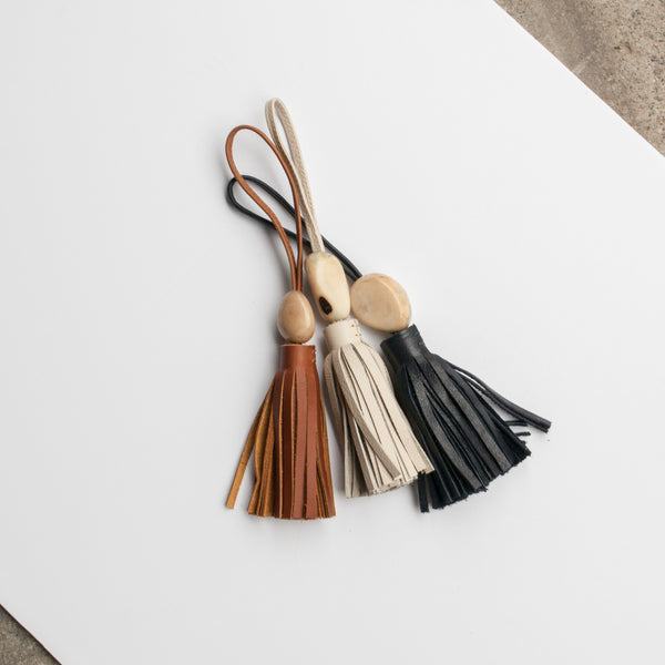 Tagua Tassel - Brown - EQUAL UPRISE