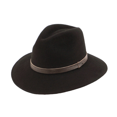 Traditional Fedora - Black - EQUAL UPRISE