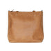Travel Leather Tote - Tan
