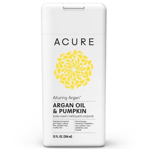 Acure Alluring Argan Body Wash - Argan Oil & Pumpkin (354ml)