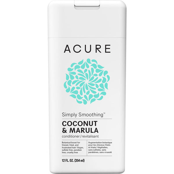 Acure Simply Smoothing Conditioner - Coconut & Marula (354ml)