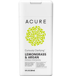 Acure Curiously Clarifying Shampoo - Lemongrass & Argan (354ml)
