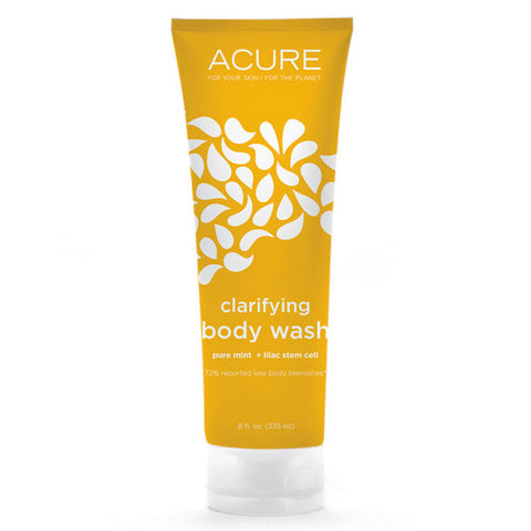 Acure Clarifying Body Wash - Pure Mint + Lilac Stem Cell (235ml)