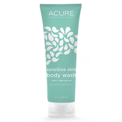 Acure Sensitive Skin Body Wash - CoQ10 + Argan Stem Cell (235ml)