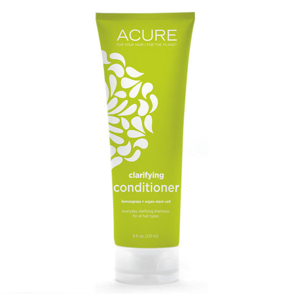 Acure Clarifying Conditioner - Lemongrass + Argan Stem Oil (235ml)