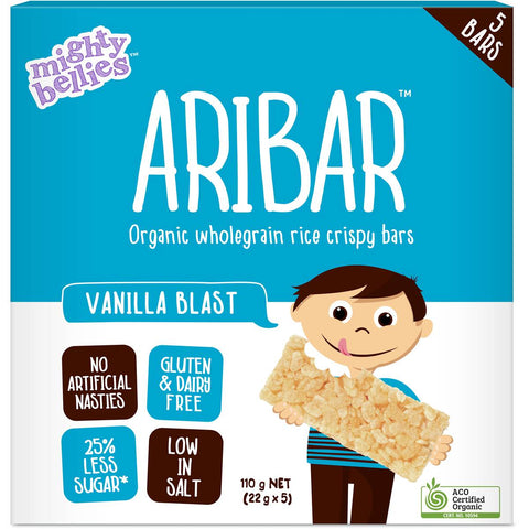 Mighty Bellies Aribar - Vanilla Blast (5 x 22g)