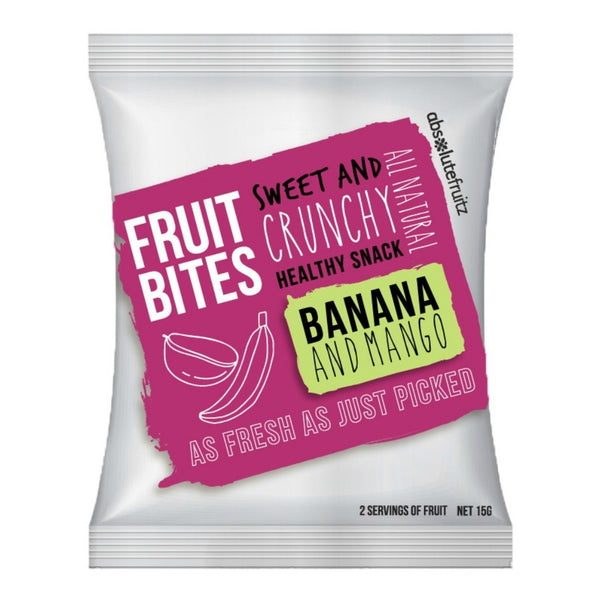 Absolute Fruitz Bites - Banana Mango (15g)