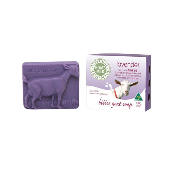 Billie Goat Soap - Lavender (100g)
