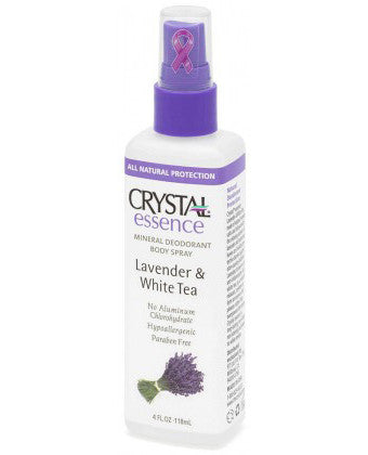 Crystal Deodorant Body Spray - Lavender (118ml)