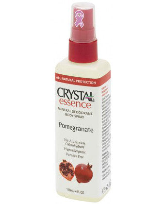 Crystal Deodorant Body Spray - Pomegranate (118ml)