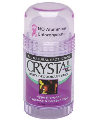 Crystal Deodorant Body Stick - Fragrance Free (125g)