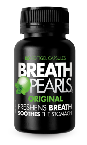 Breath Pearls Breath Freshener - 150 soft gel caps