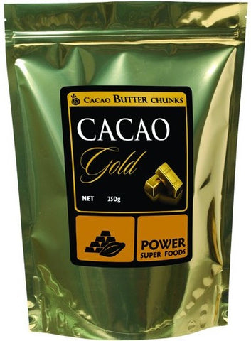POWER SUPER FOODS Organic Cacao Butter Chunks (1kg)