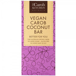 The Carob Kitchen Carob VEGAN Coconut Bar (80g)