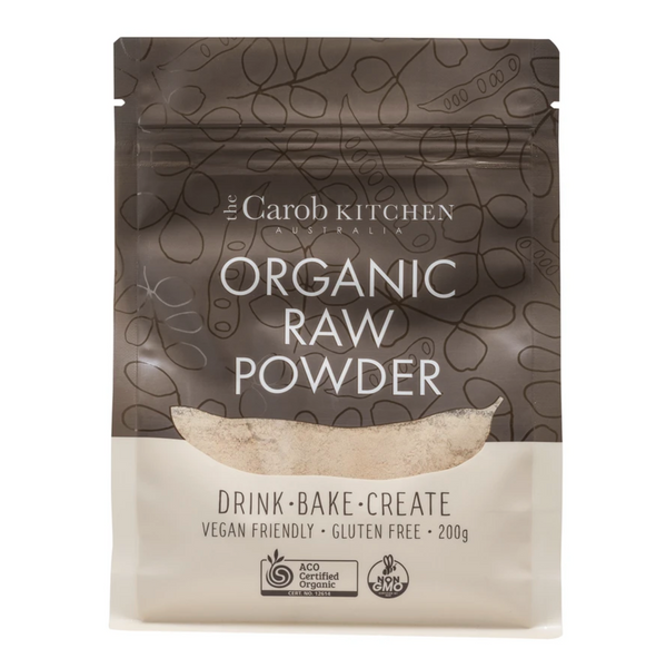 The Carob Kitchen Carob Powder - RAW (200g)