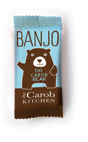 The Carob Kitchen Banjo Bear - Carob (15g)