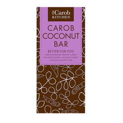 The Carob Kitchen Carob Coconut Bar (80g)
