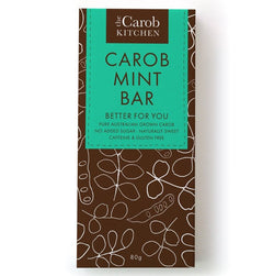 The Carob Kitchen Carob Mint Bar (80g)