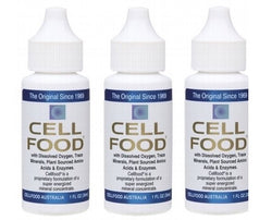 3 x Cellfood Concentrate Formula - Liquid (30ml) (Value Pack)