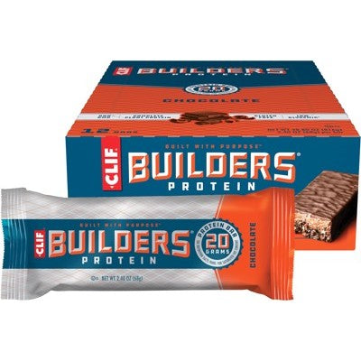 Clif Builders Bar - Chocolate (12 x 68g)