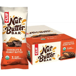 Clif Energy Bar - 12 x Nut Butter Filled Chocolate Peanut Butter (50g)