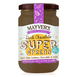 Mayvers Dark Chocolate Super Spread (375g)