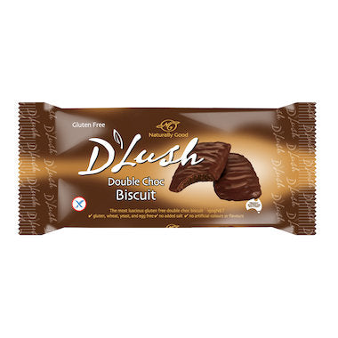 Naturally Good D'Lush Biscuits - Double Choc (150g)