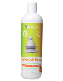 ECOlogic Dishwashing Liquid - Sweet Orange & Clementine (500ml)