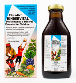 Floradix Kindervital Multivitamin & Mineral Formula for Children (250ml)