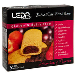 Leda Nutrion Fruit Bar - Strawberry (5 x 38g)