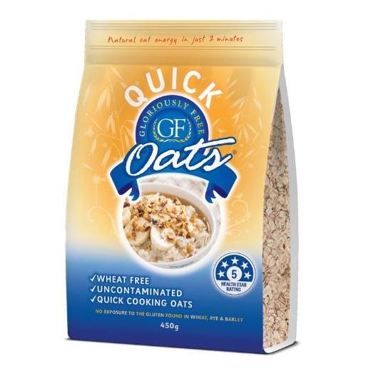 Gloriously Free Rolled Quick Oats (450g)