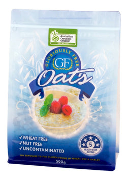Gloriously Free Uncontaminated Organic Oats (500g)
