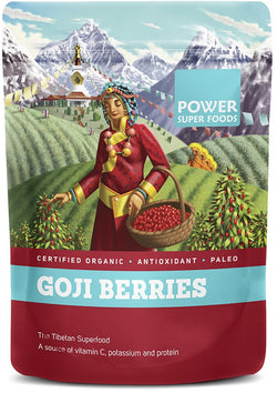 POWER SUPER FOODS Organic Goji Berries (250g)