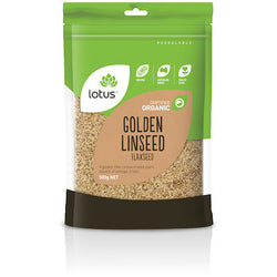 Lotus Organic Golden Linseed (Flaxseed) (500g)