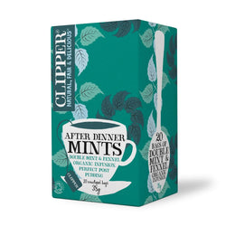 Clipper High End Herbal After Dinner Mints Organic Tea (20 t-bags)