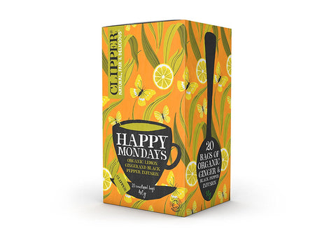 Clipper High End Herbal Happy Mondays Organic Tea (20 t-bags)