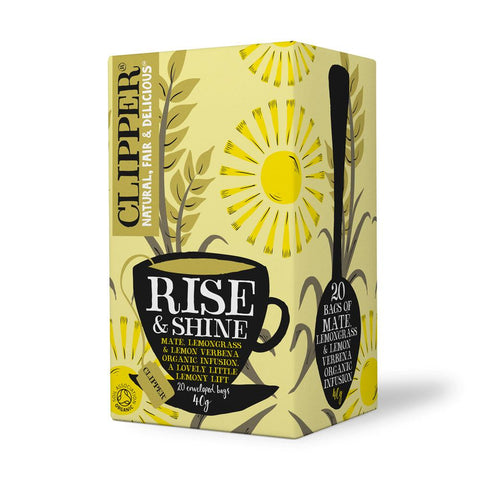 Clipper High End Herbal Rise & Shine Organic Tea (20 t-bags)