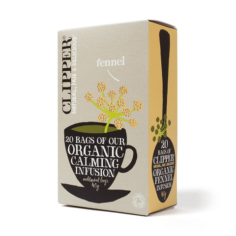 Clipper Organic Tea Infusion - Fennel (20 t-bags)