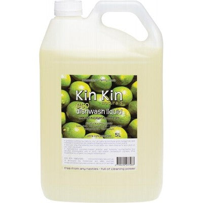Kin Kin Lime Dishwash Liquid (5 Litres)